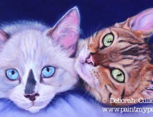 Vollie – Cat Painting