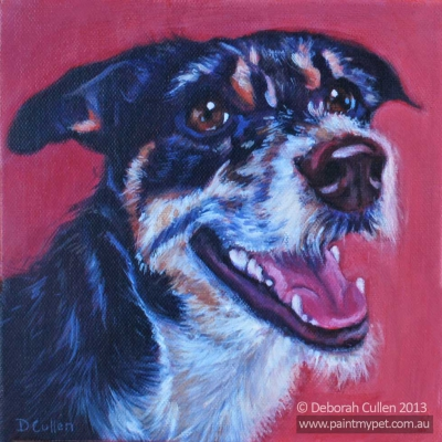 Terrier Dog Portrait