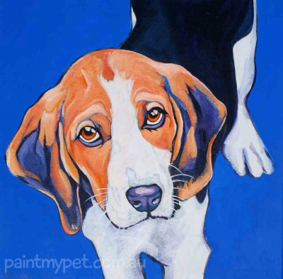 dog portrait - paintmypet