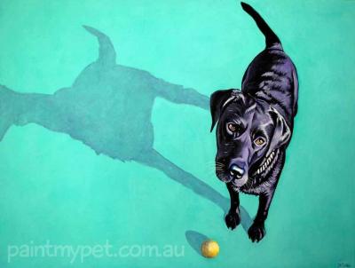 Labrador Painting - paintmypet.com.au