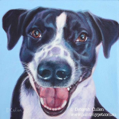 Dog portrait - Deborah Cullen